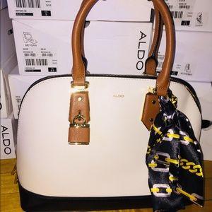 NEW Aldo Yilari Cream Bag